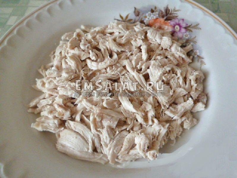 салат с чипсами рецепты с фото с курицей