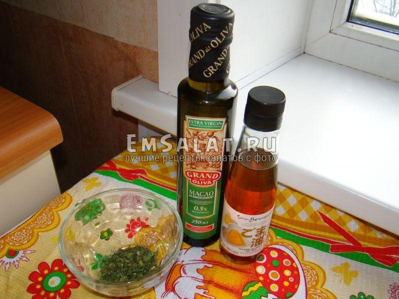 Оливковое и кунжутное масло