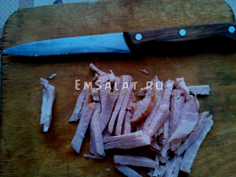 колбасные полоски