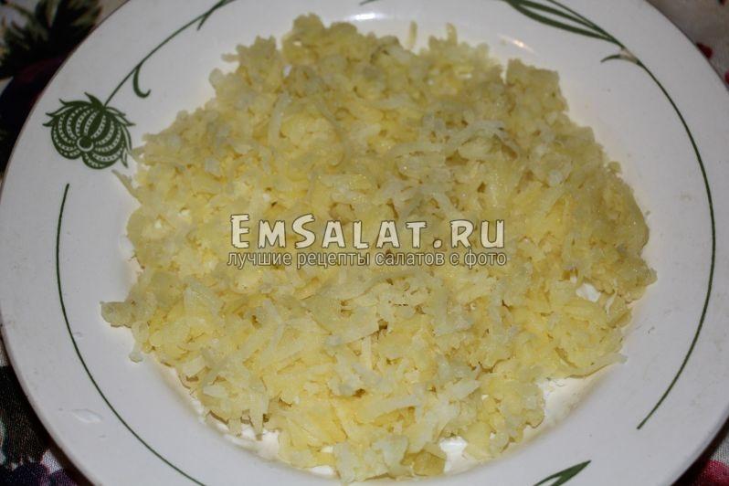 как сделать салат мимоза