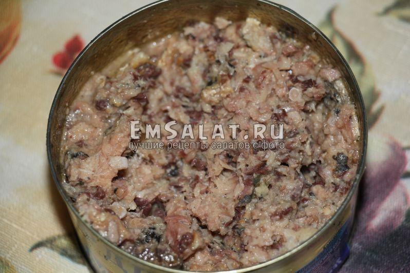 как приготовить салат мимоза с консервой