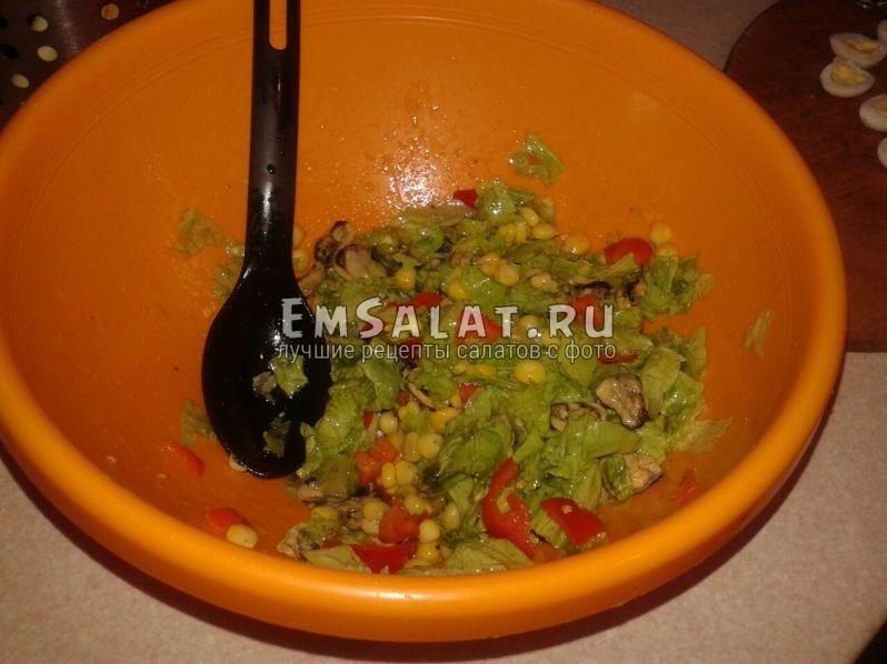 Смешаем наш салат