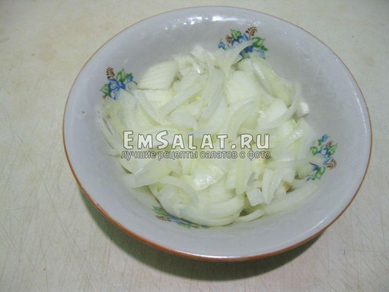 репчатый лук для салата