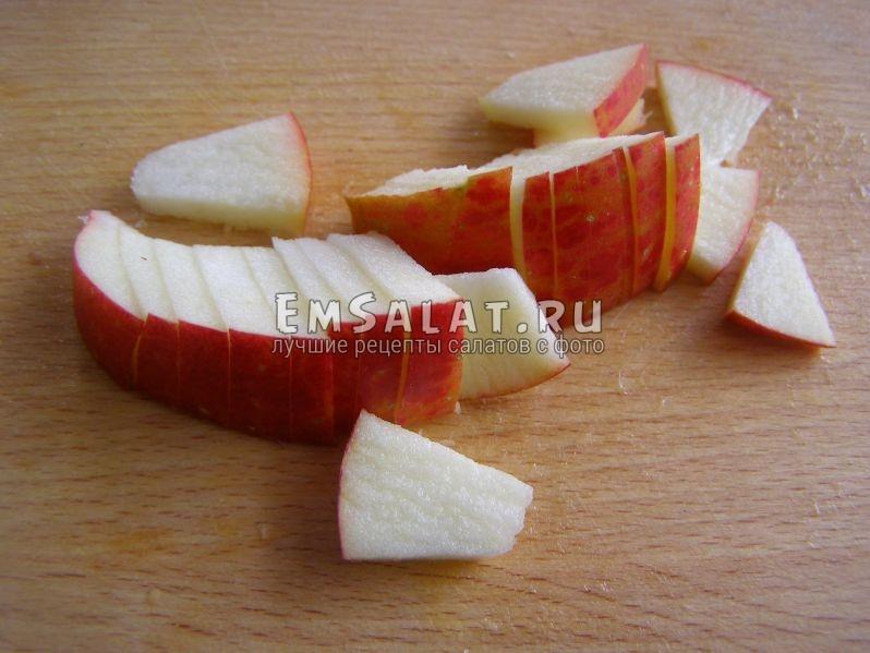 пластинки яблока