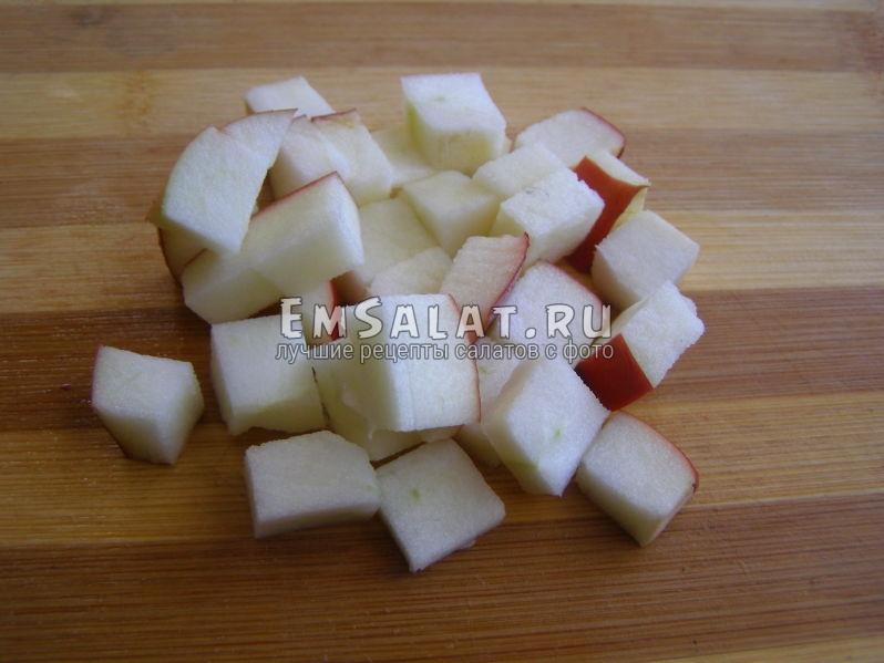 ломтики яблока