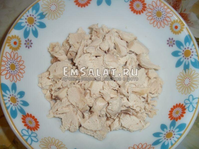 Куриное филе для салата Интерес