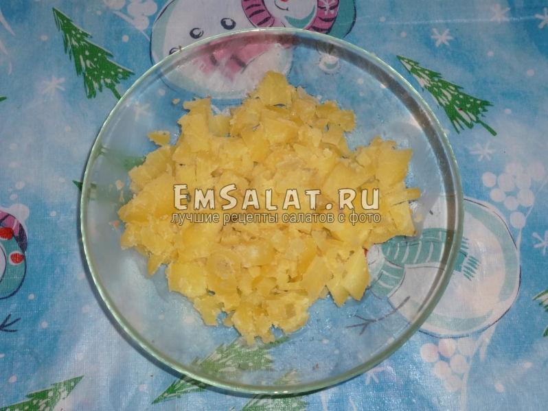 Фото вареного картофеля