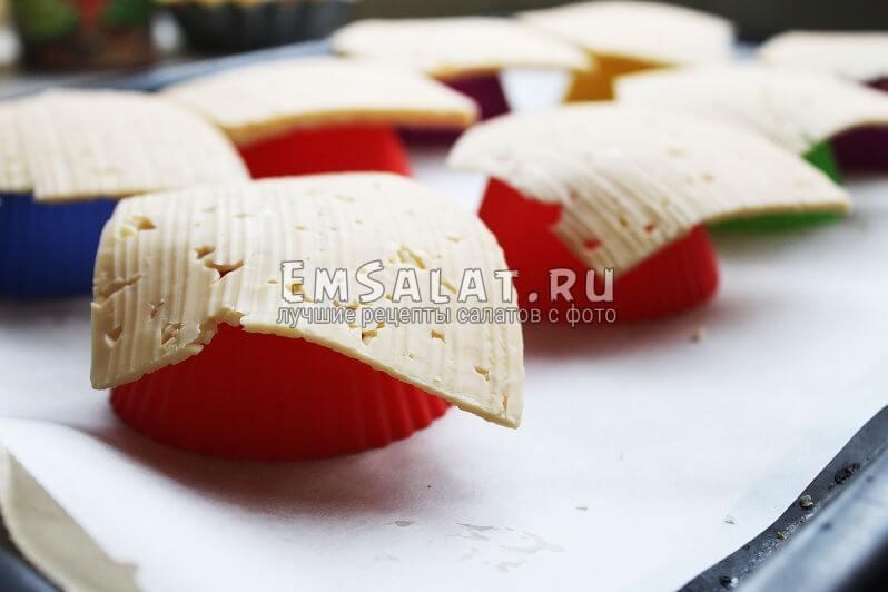 Заготовки для сырных тарталеток