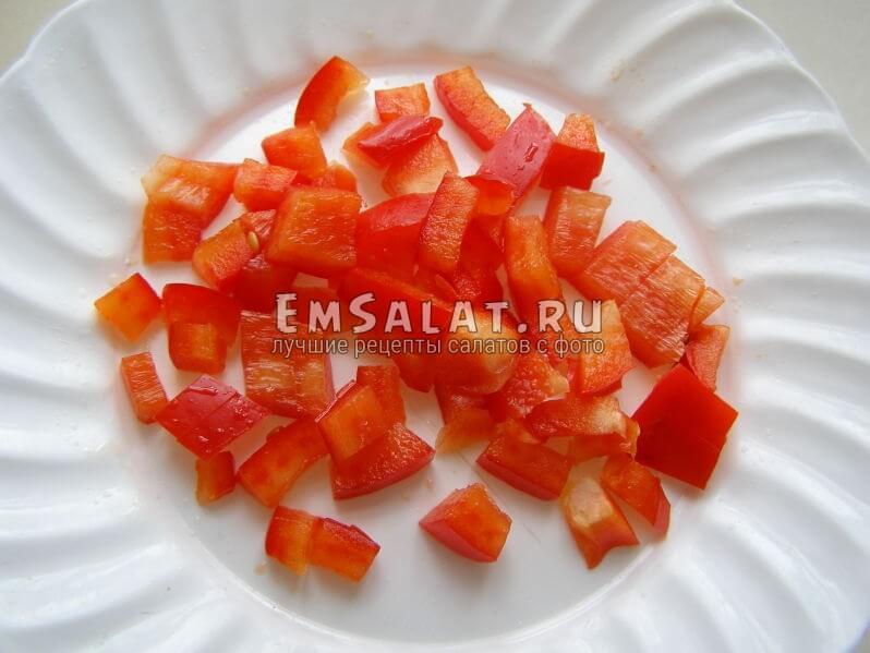 ломтики болгарского перца