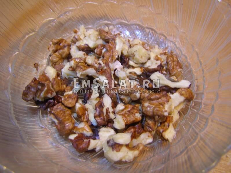 раздробленные орешки