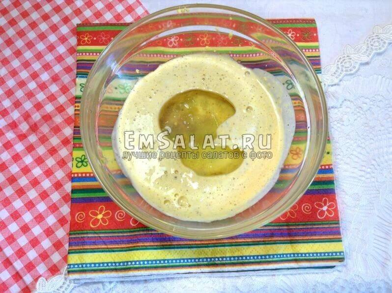 Основа для тартар с маслом