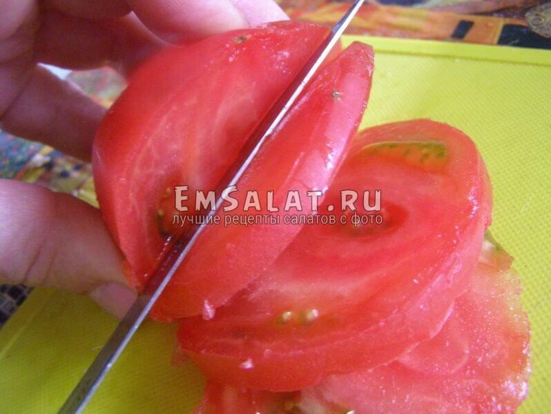 режутся помидоры