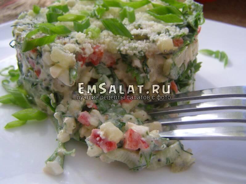 салат на скору руку
