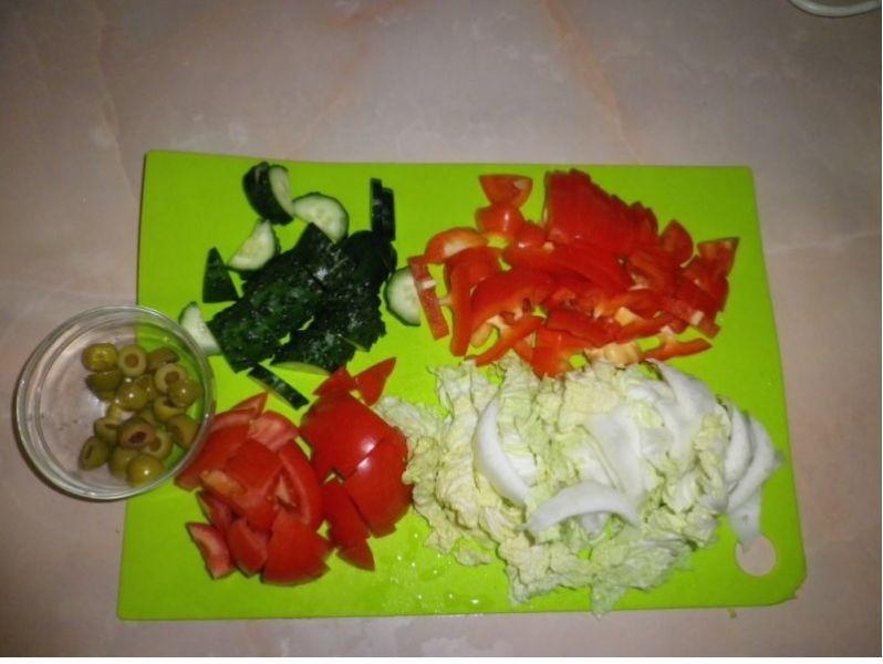 вкусный салат из курицы