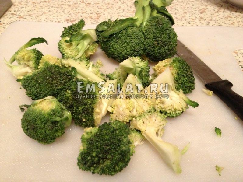 соцветия брокколи