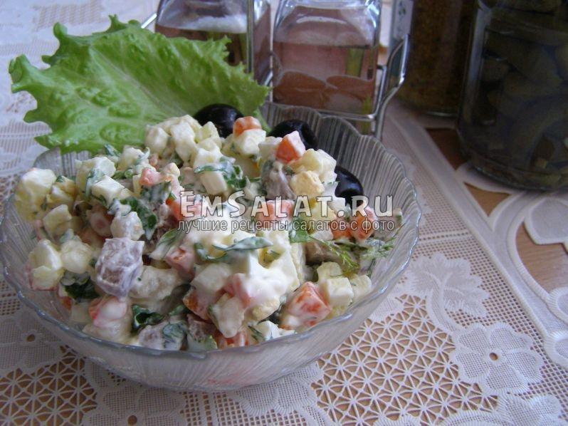 салат, который хочется есть всегда - и в будни, и по праздникам