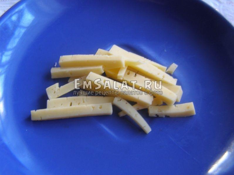 соломки из твердого сыра