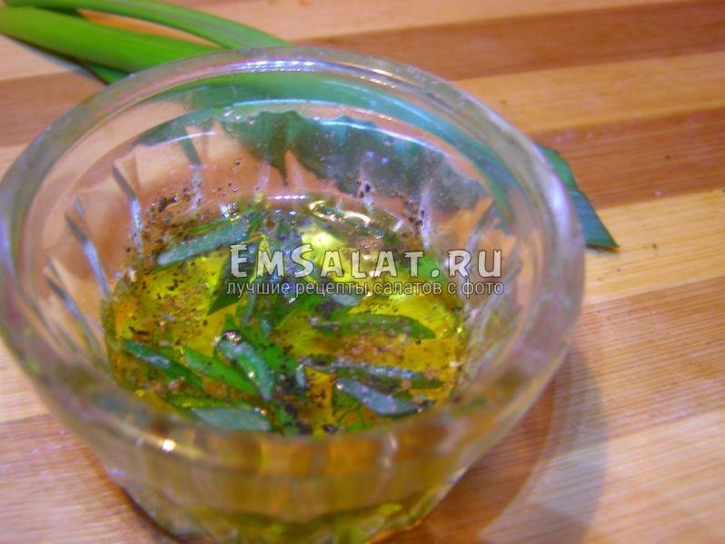 в оливковом масле специи