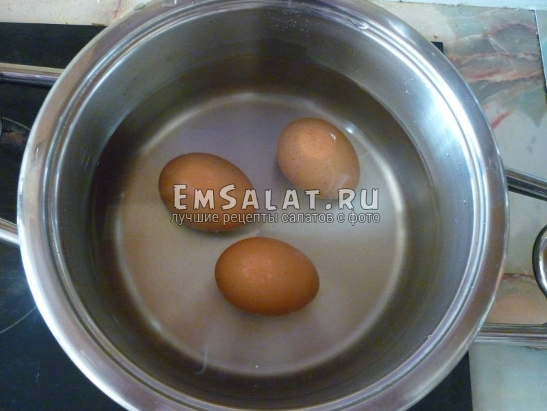 Фотография вареных яиц