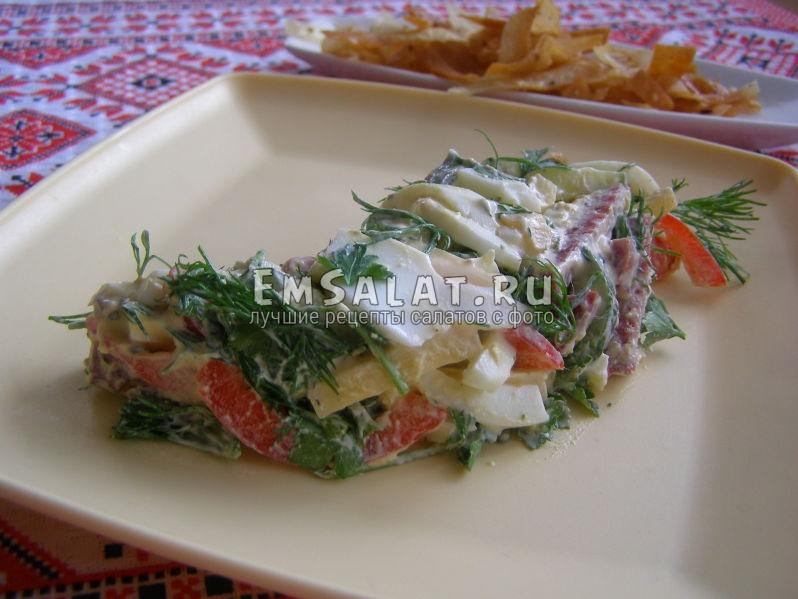 презентация салатика