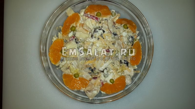 готовый Салат из курицы Фаворит