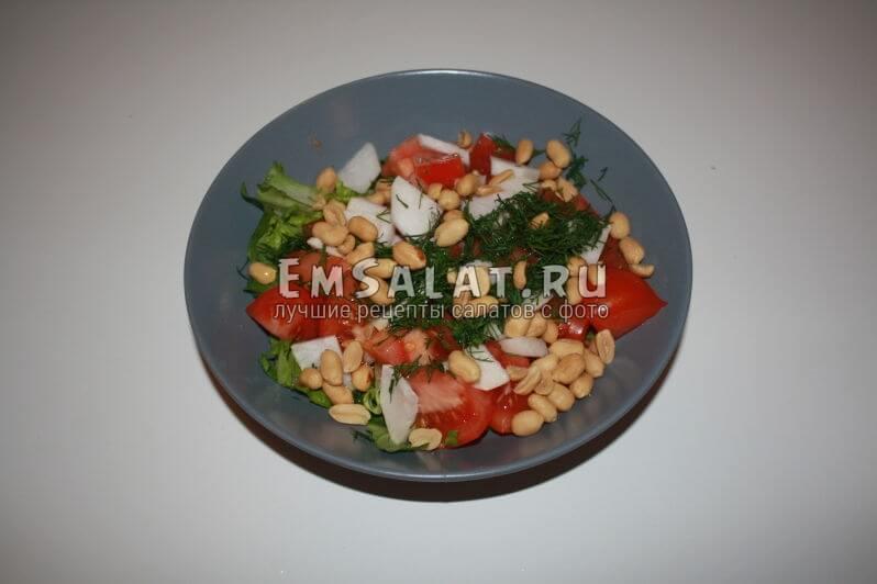 салат со всеми продуктами