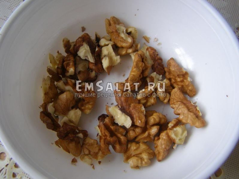 жаренные грецкие орехи