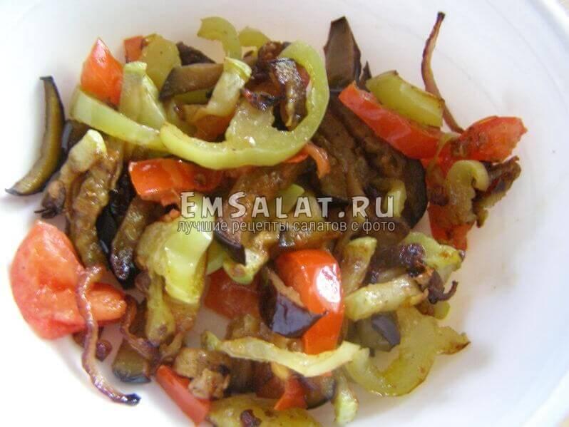 поджаренные овощи