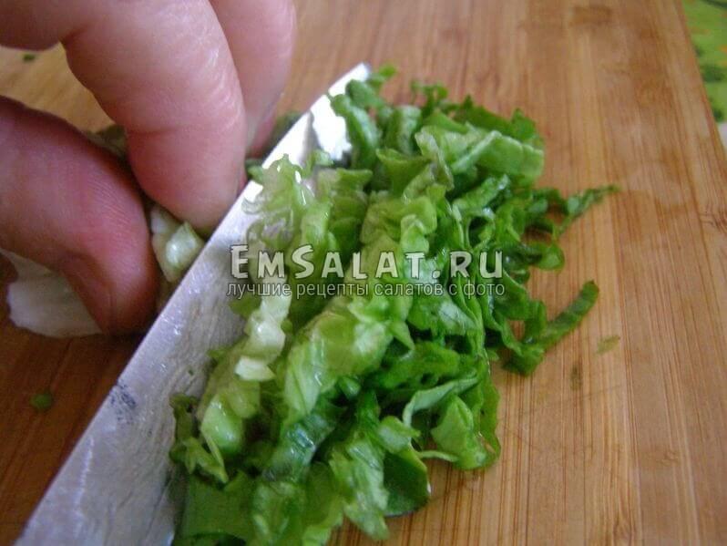соломка салата