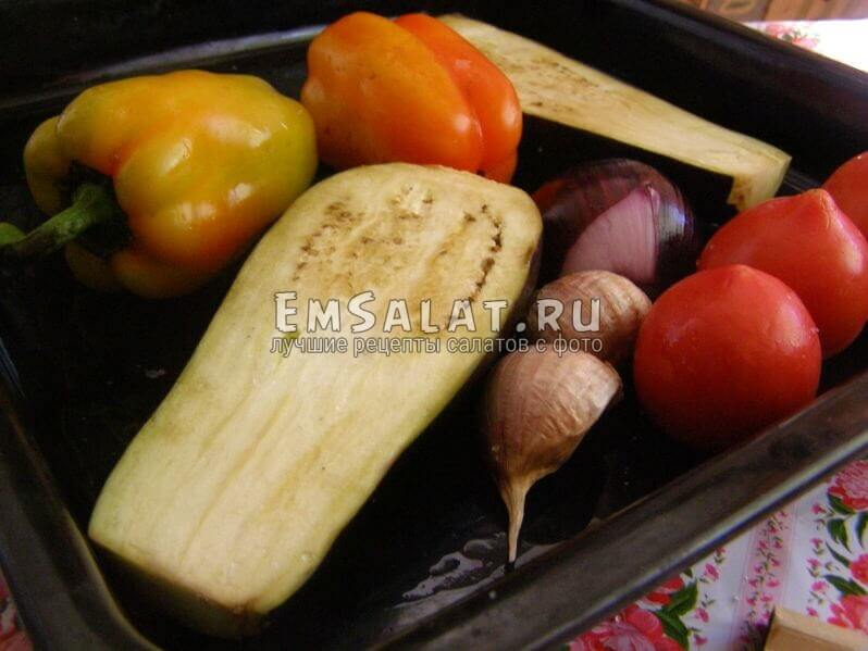 овощи в плотике